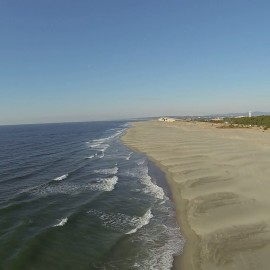 空撮 遠州灘
